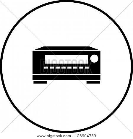 av receiver symbol