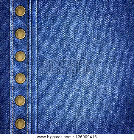 the background a simple denim close up