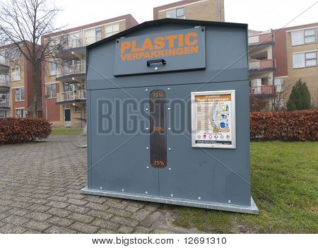 Recycle Bin For Plastic