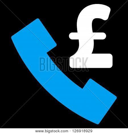 Pound Payphone vector icon. Pound Payphone icon symbol. Pound Payphone icon image. Pound Payphone icon picture. Pound Payphone pictogram. Flat pound payphone icon.