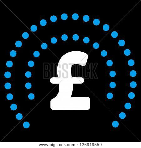 Pound Sphere Shield vector icon. Pound Sphere Shield icon symbol. Pound Sphere Shield icon image. Pound Sphere Shield icon picture. Pound Sphere Shield pictogram. Flat pound sphere shield icon.