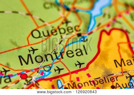 Montreal On The Map