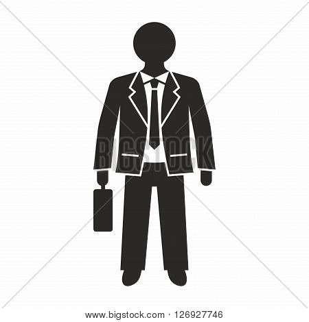 A person who is employed by an organization or company, works in business especially in a high position.