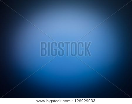 Blue Abstract Blur Background
