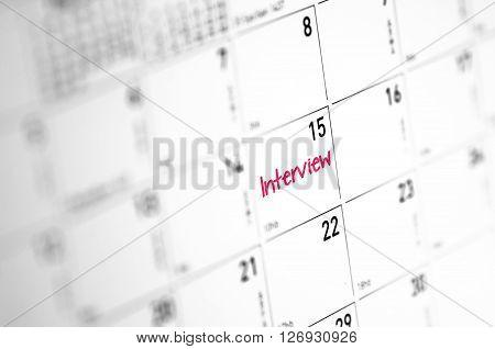 Interview Reminder
