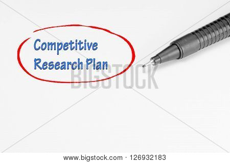 Competitive Research Plan - Business Concept