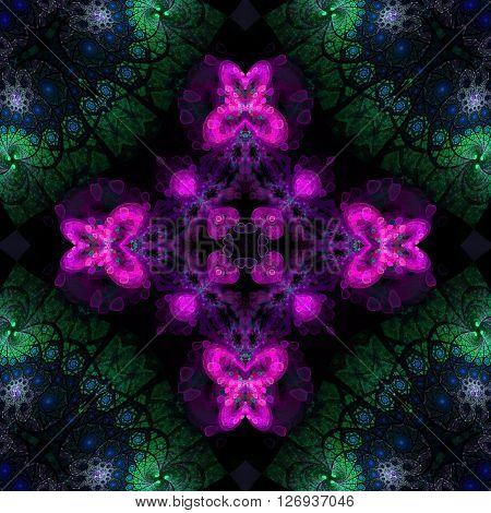Ornamental Pattern Tile