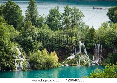 Plitvice Lakes National Park is one of the oldest national parks iin Croatia.
