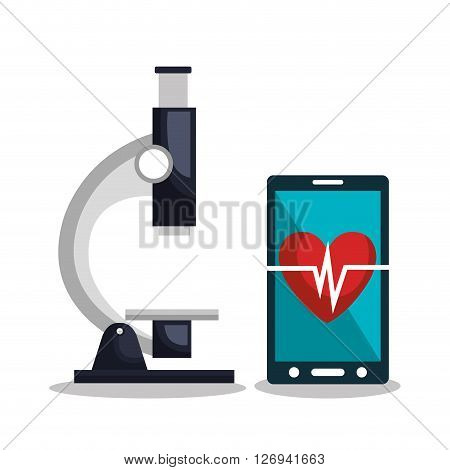 health technology design, vector illustration eps10 graphic