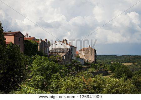Oprtalj is a village  in Istria Croatia.