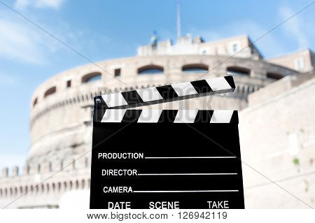 Movie Production In Rome