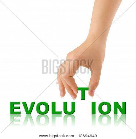 Mano y palabra evolución