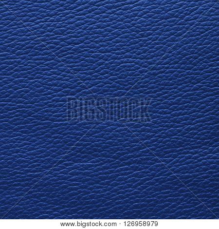 Purple blue leather texture. Close up top view.