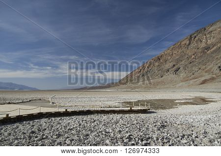 Bad Water Basine in Death Valley (California)