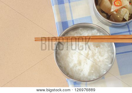 Mush Or Boiled Rice