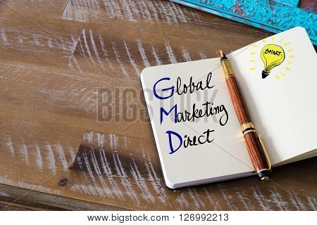 Business Acronym Gmd Global Marketing Direct