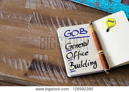 Business Acronym Gob General Office Building