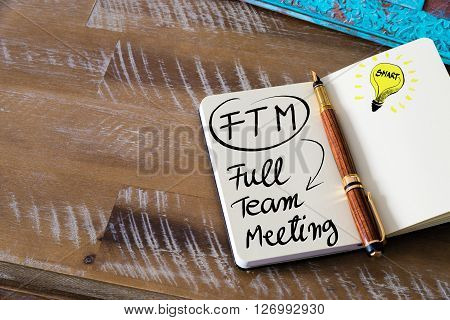 Business Acronym Ftm Full Team Meeting
