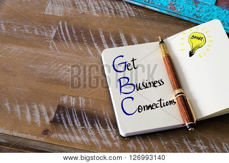 Conceptual Business Acronym Gbc
