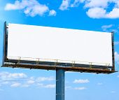 blank banner for your ad
