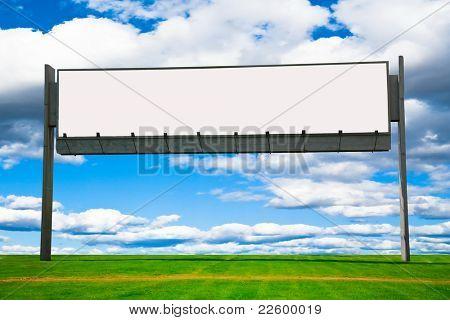 Billboard Copyspace Idea Needed
