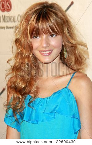 LOS ANGELES - JUN 14: Bella Thorne at the Rock-N-Reel event held at Culver Studios in Los Angeles, California on June 14, 2009
