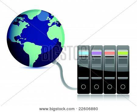 Presentación Resumen del servidor en la tierra