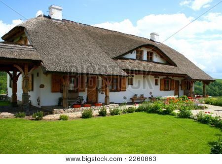 Old Style House In The Countryside