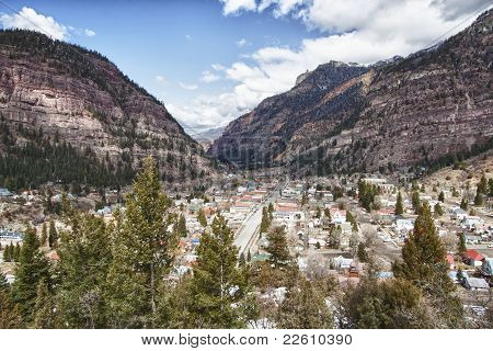 Ouray City, Colorado