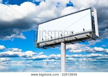 Street Board Billboard Copyspace