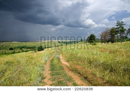The Storm In The Steppe