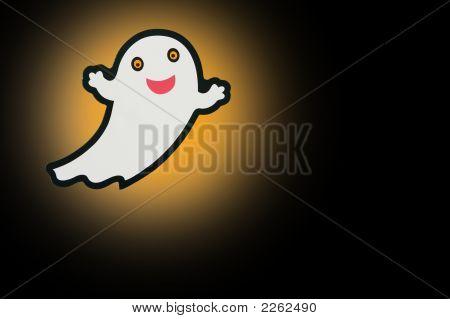 Ghost On Black