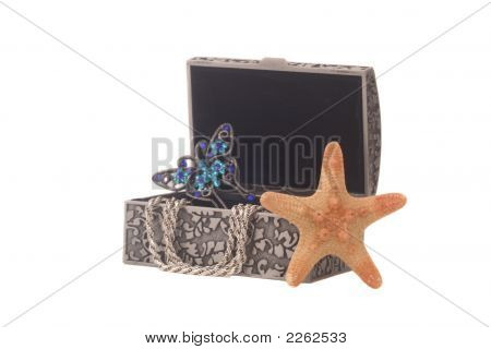 Jewelry Box On White