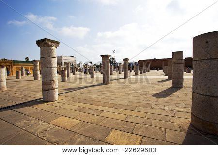 Morocco. Rabat. Le Tour Hassan