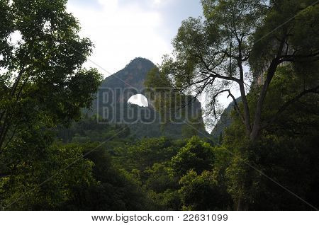 Colina de la Luna Yangshuo