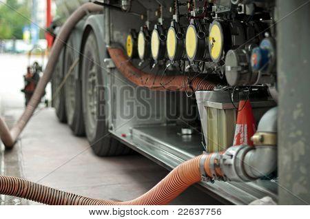 Caminhão de combustível