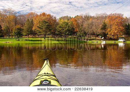 Kayaking, St. Croix River