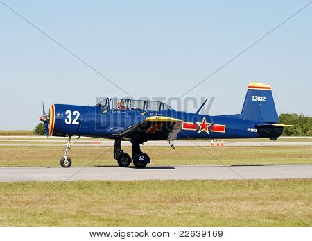 Nanchang 6 Military Training Airplane