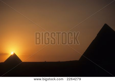 Sunset On The Great Pyramid