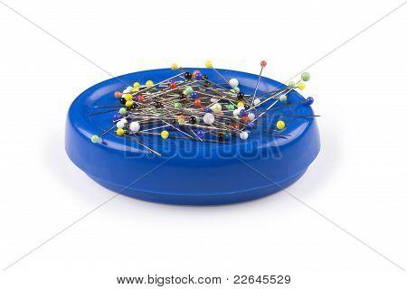 Magnetic pincushion