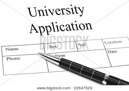 Univeristy Application