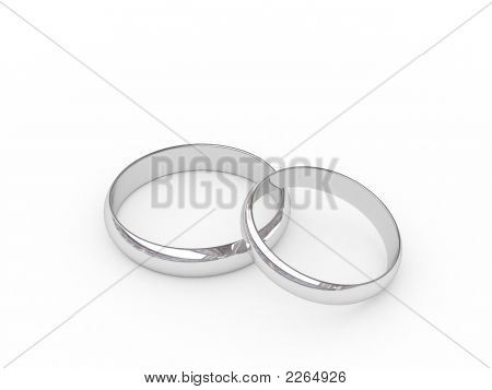 Platinum Or Silver Wedding Rings