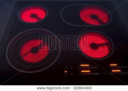 Electrical hob