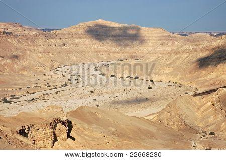 Wadi Faran in Negev desert.