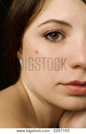 Girl With A Mole