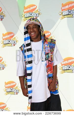 LOS ANGELES - MAR 31: Lil' JJ at the 2007 Kids' Choice Awards at UCLA in Los Angeles, California on March 31, 2007