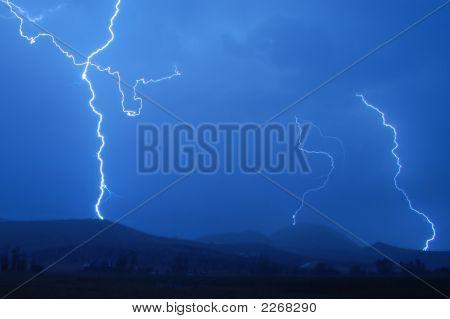 Sunrise Lightning