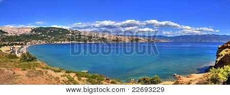 Bay Of Baska - Beautiful Long Beach