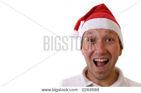 Glücklich Santa Claus