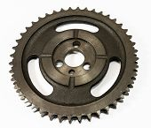 Antique Automotive Double Roller Cast Iron Timing Gear poster